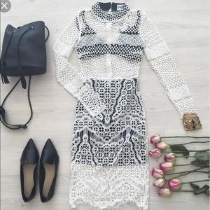 Sabo Skirt Dress : White Lace Dress